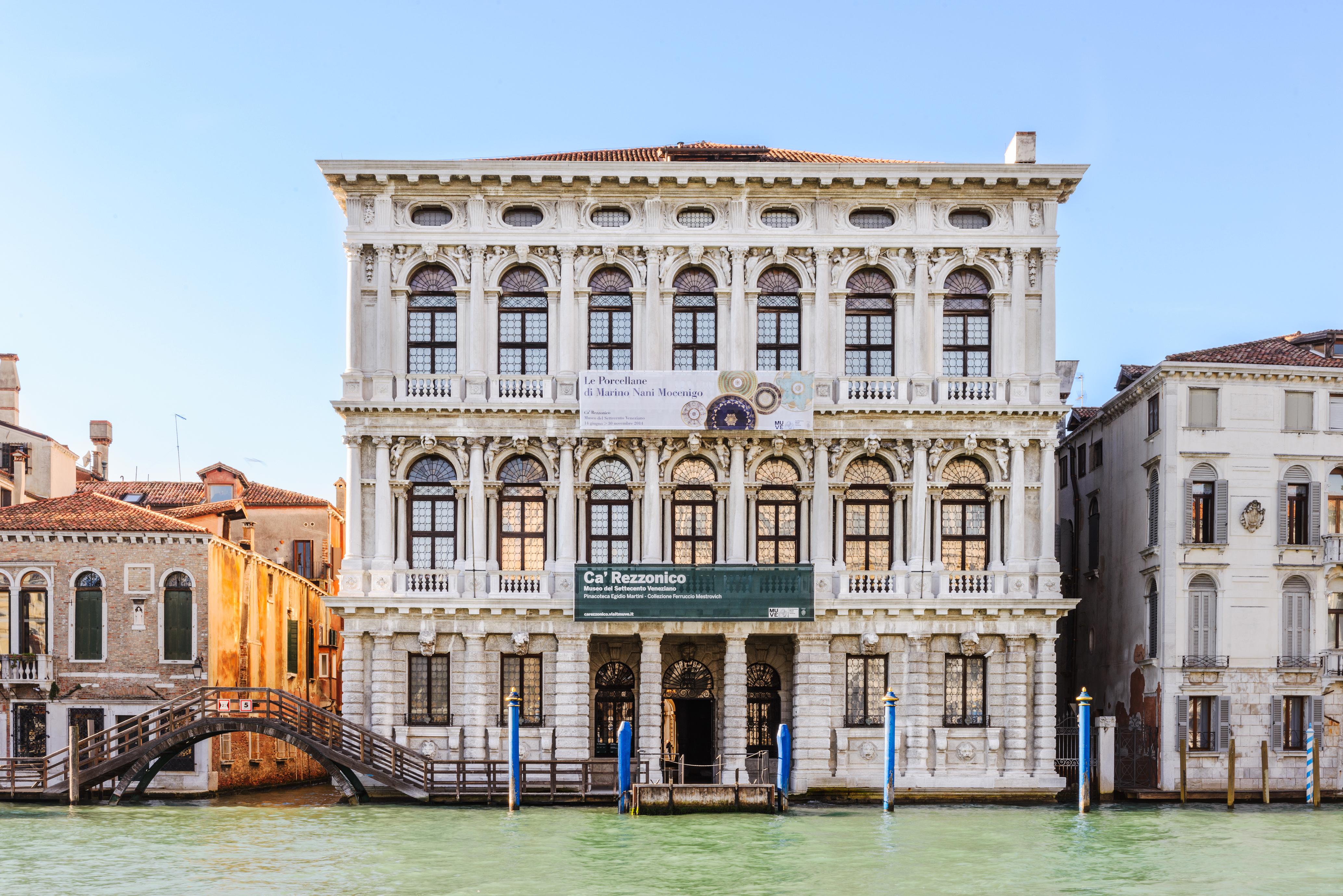 Ca' Rezzonico – Museo del Settecento Veneziano - esterno facciata