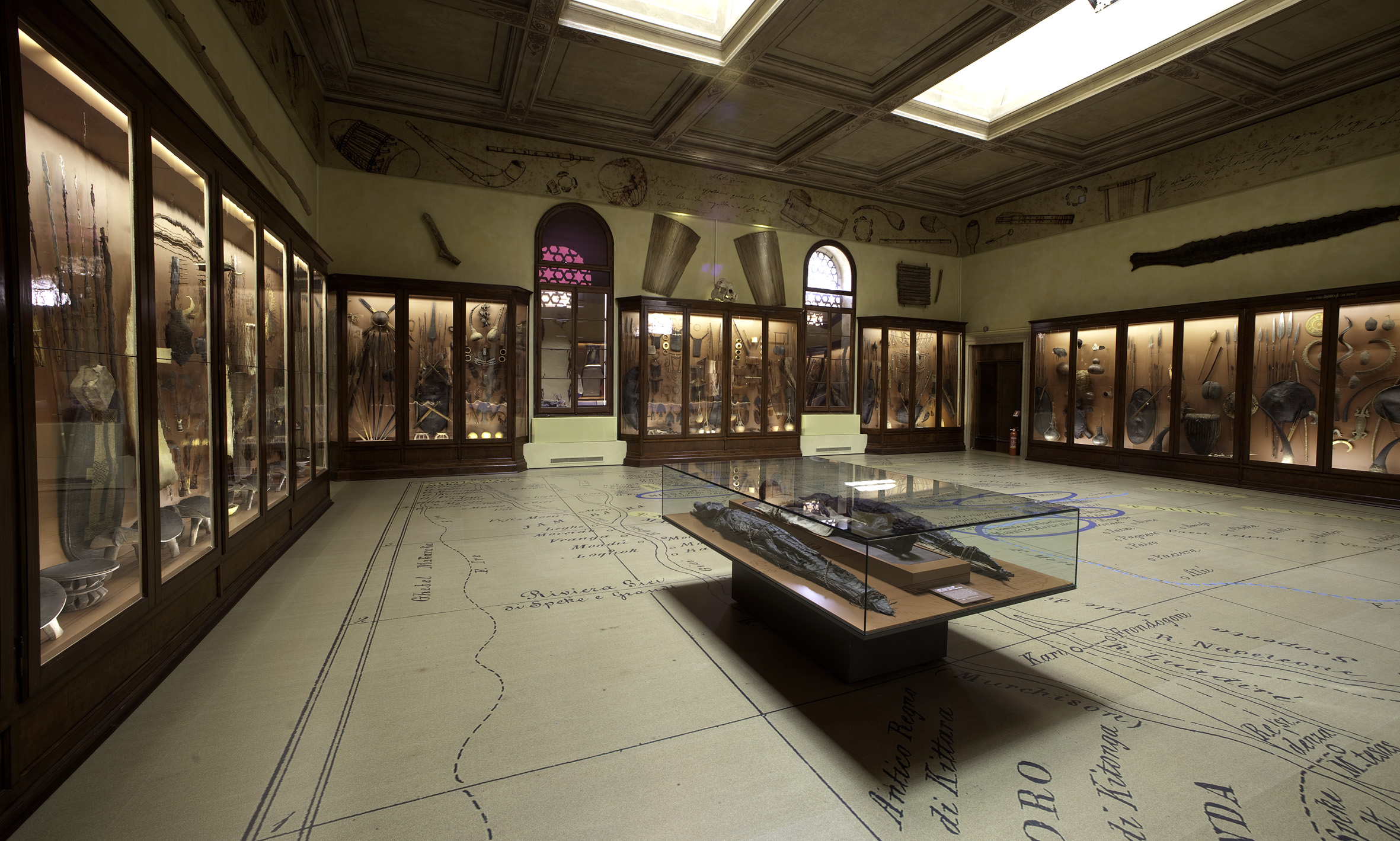 Sala degli Esploratori - Museo di Storia Naturale