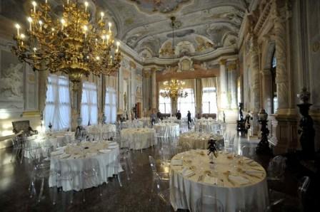 Rezzonico - allestimento  Salone da Ballo
