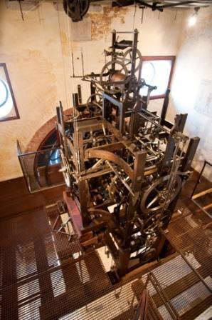 Torre orologio - ingranaggi