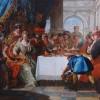 Francesco Fontebasso. Il banchetto di Cleopatra. Collezione privata.