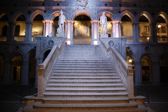 Scalone Palazzo Ducale
