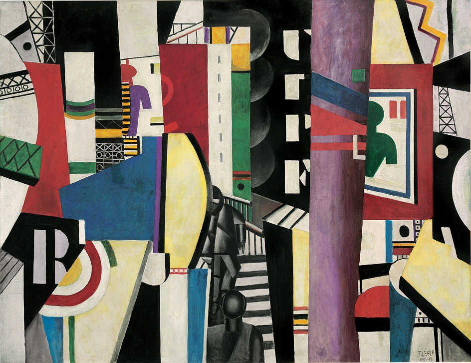 Fernand Léger, La Ville, 1919 / A.E. Gallatin Collection, 1952 / © Fernand Léger by SIAE 2013