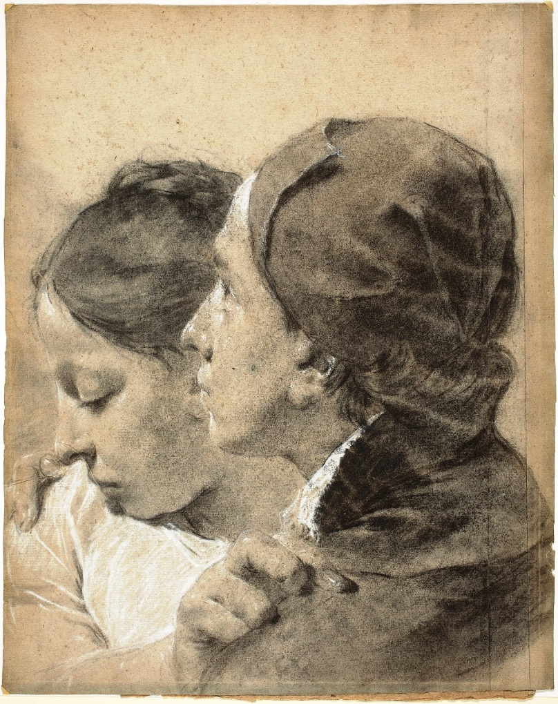 Giovanni Battista Piazzetta_Two Young Lovers_ca 1743