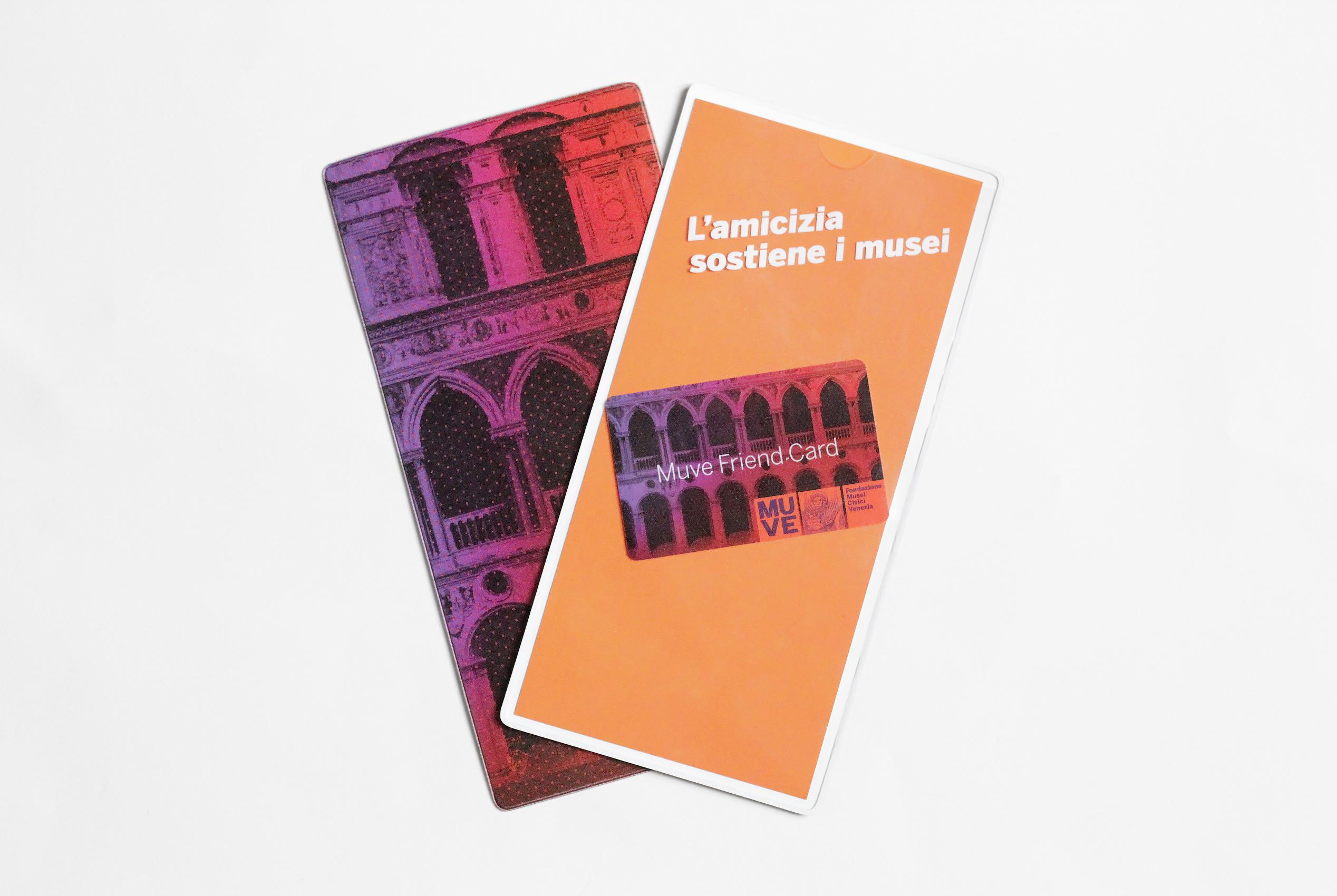 MUVE Friend Card | Fondazione Musei Civici di Venezia | MUVE